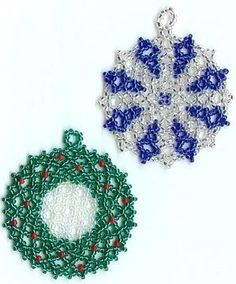 Free Beaded Christmas Patterns | Free Beaded Craft Patterns | HOLIDAY BEAD PATTERNS | Browse Patterns
