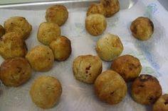 Homemade gluten free corn dogs.  Use Maseca corn flour