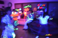 The Pethel Family: Glow Party