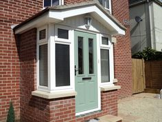 Enthusiastic contributed entrance porch design Going Here Porch Uk, House Front Porch, Small Front Porches, Front Porch Design, Side Porch, Porch Doors Uk, Porch Entrance, Cottage Porch, Entrance Ideas