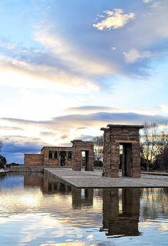 Templo egipcio de Debod.