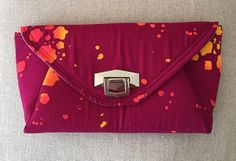 Clutch Bag Day/ Evening by MondayBags on Etsy