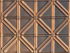 Decorative Ceiling Tiles, Inc. Store - Jazz Age - Copper Backsplash Tile -