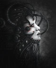 Beautiful Machine by MisScribbler