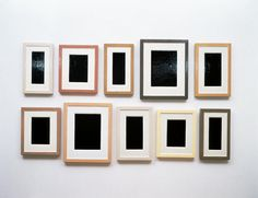 Collection of Ten Plaster Surrogates  1982/91  enamel on hydrostone  41 3/4 x 71 inches/106 x 180.3 cm