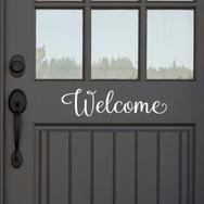 Welcome Door Decal - Create & Ship