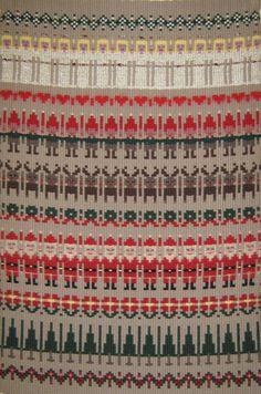 Boundweave Christmas pattern
