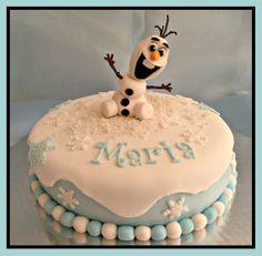 My first FROZEN Cake! :)