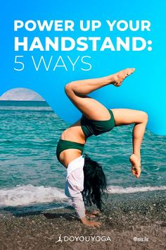 5 Ways to Power Up Your Yoga Handstand #yoga #fitness Yoga Handstand, Trust Your Gut, Cat Pose, Yoga Photography, Yoga Tips, Asana, 5 Ways, Yoga Fitness, Yoga Poses