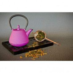 Fuschia Dome Nailhead Teapot