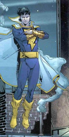Freddy Freeman/Captain Marvel Jr./Shazam/Powers-Super-Strength, Super-Speed, Invulnerability, Flight, Healing, Wisdom, Enhanced Mental Perception, Fearlessness, Magic Lightning