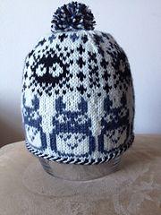 Ravelry: Sanpo pattern by MJ Saunders – knitting charts Baby Hats Knitting, Fair Isle Knitting, Knitting Socks, Love Knitting Patterns, Knitting Charts, Totoro Hat, Ribbon Yarn, Sewing Art, Sewing Ideas