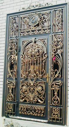 Best Ideas For Metal Door Lock Wrought Iron