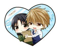 Yukina and Kisa