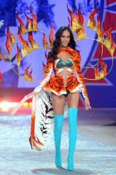 fe3de596fc Model Joan Smalls walks the runway during the 2012 Victoria s Secret  Fashion Show at the Lexington Avenue Armory on November 2012 in New York  City.