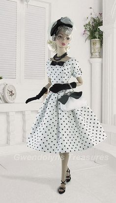 Dotted Chic dress by Gwendolyns Treasures