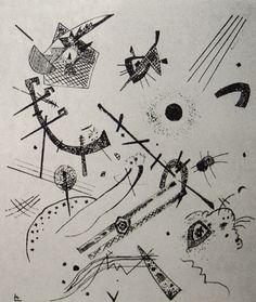 Wassily Kandinsky - Kleine Welten XI (Small Worlds XI), 1922