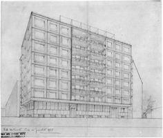 Casa dei Giornalisti - Giovanni Muzio - itineraries - Ordine degli architetti, P.P.C della provincia di Milano