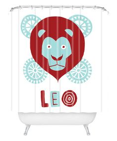 Another great find on #zulily! Leo Shower Curtain #zulilyfinds