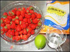 珊卓:封存這個冬季的草莓香,自己做草莓果醬