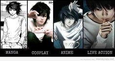 Death Note L Lawliet