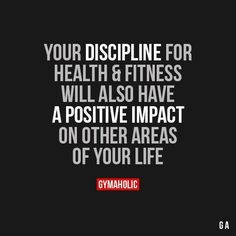 Quotes for Motivation and Inspiration QUOTATION – Image : As the quote says – Description Your Discipline For Health And Fitness - Fit Girl Motivation, Fitness Motivation Quotes, Weight Loss Motivation, Fitness Goals, Fitness Tips, Health Fitness, Workout Motivation, Motivational Quotes, Inspirational Quotes