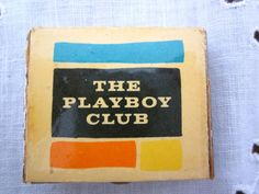 Playboy Club matchbook