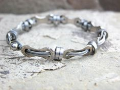 Cable Bike Chain Bracelet