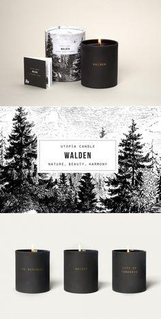 Walden Candle — The Dieline | Packaging & Branding Design & Innovation News