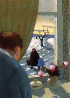 Postcard - Michael Sowa - Leaving - 018