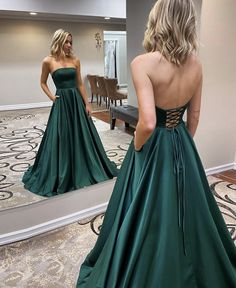 Strapless Backless Emerald Green Long Prom Dress, Backless Emerald Green Formal Graduation Evening Dress Related posts:Prom Chic Ball Gowns Prom Dresses Red Off-the-Shoulder Long Prom Dress Evening D. Stunning Prom Dresses, Pretty Prom Dresses, A Line Prom Dresses, Formal Evening Dresses, Evening Gowns, Simple Formal Dresses, Strapless Prom Dresses, Simple Prom Dress, Formal Gowns