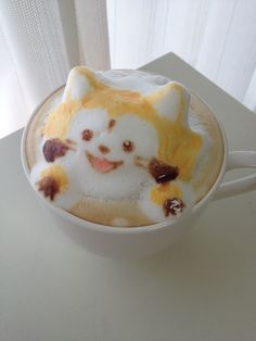 I'd love to wake up and have this be my morning coffee!