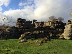 Brimham Rocks, Yorkshire