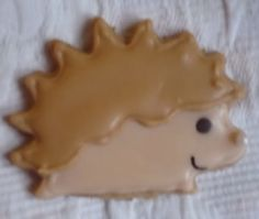 For Hobbit Party: Radagast hedgehog cookies