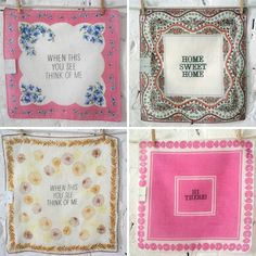 love hankies { started a love for them after @MaR  years ago }