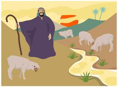 The Good Shepherd Object Lesson from John 10:11-15
