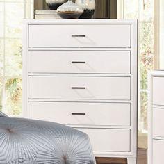 Furniture Of America Enrico I Chest - CM7068WH-C