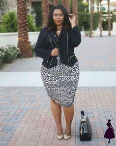 25 Casual Fall Work Outfits for Plus Size Women Nicole Simone. Curvy Fashion, Look Fashion, Girl Fashion, Fashion Outfits, Womens Fashion, Formal Fashion, Cheap Fashion, Modest Fashion, Fashion Ideas