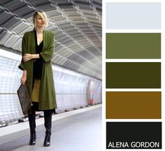Color-Block Fashion by Alena Gordon - Fashion