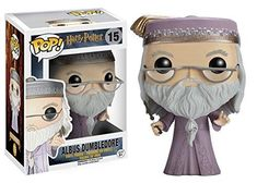 Brand: FunKo Features: - From the world of Harry Potter, Albus Dumbledore, as a stylized POP vinyl from Funko! - Stylized collectable stands 3 3/4 inches tall, perfect for any Harry Potter fan! - Collect and display all Harry Potter Pop! Vinyl's! Details: From the world of Harry Potter, Albus Dumbledore, as a stylized POP vinyl from Funko! Figure stands 3 3/4 inches and comes in a window display box. Check out the other Harry Potter figures from Funko! Collect them all.