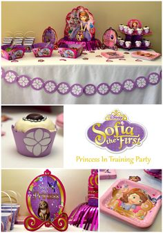 Plan an easy Princess in Training Sofia the First Party!
