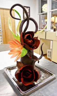 The Hot Chocolatier:  Most recent Chocolate Sculpture
