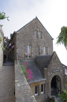 Typical House - Mont St Michel, France