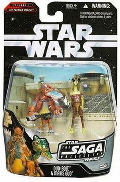 Amazon.com: Star Wars - The Saga Collection - Basic Figure - Podracer Pilots - 2 Pack: Toys & Games