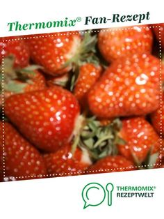 ERDBEER SEKT MARMELADE von marmelädchen. Ein Thermomix ® Rezept aus der Kategorie Saucen/Dips/Brotaufstriche auf www.rezeptwelt.de, der Thermomix ® Community.