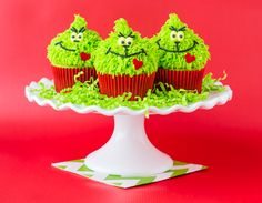 Grinch Cupcakes!