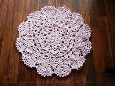 Die 92 Besten Bilder Von Teppich Crochet Carpet Crochet Doilies