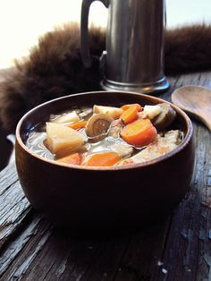 Root Soup, from north of The Wall #innatthecrossroads #gameofthrones