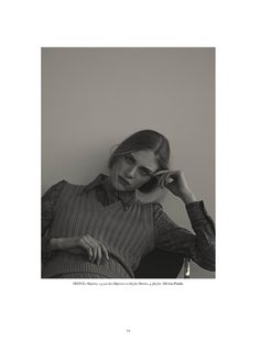 visual optimism; fashion editorials, shows, campaigns & more!: the girls: georgia hilmer and hedvig palm by matthew sprout for styleby #31