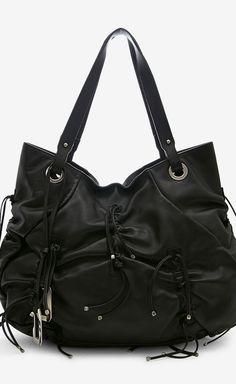 Dolce & Gabbana Black And Silver Shoulder Bag
